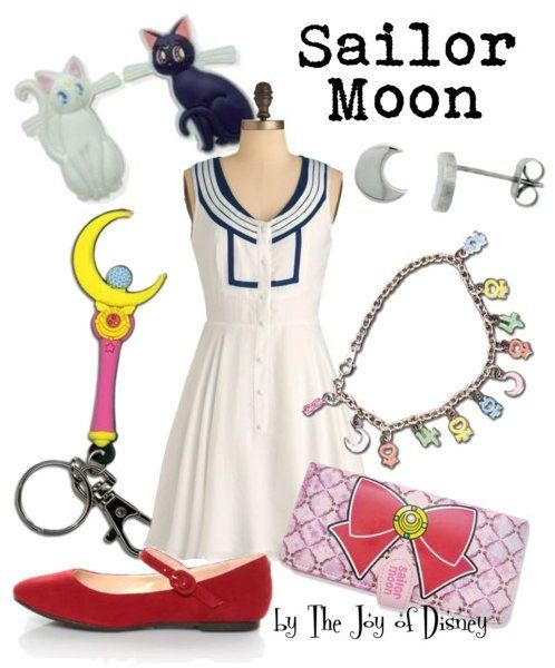 Inspired by the Anime character Sailor Moon!
