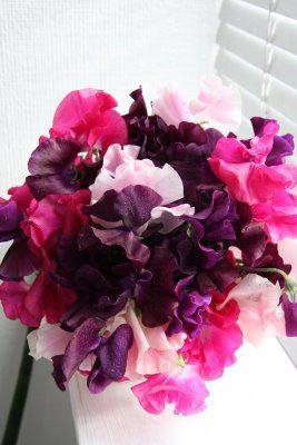 Purple Wedding...Pink Flowers? :  wedding Pink Purple Wedding Flowers