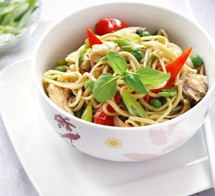 Tasty Chicken Noodles | Om, Nom, Nom (Chicken) | Pinterest