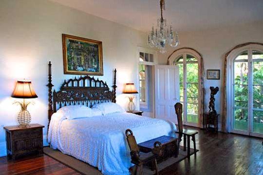 Ernest Hemingway's bedroom.
