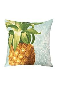 PRINTED PINEAPPLE 50X50CM SCATTER CUSHION