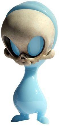 'Indigo Fade Mini Skelve' by Kathie Olivas & Circus Posterus from #nycc 2010