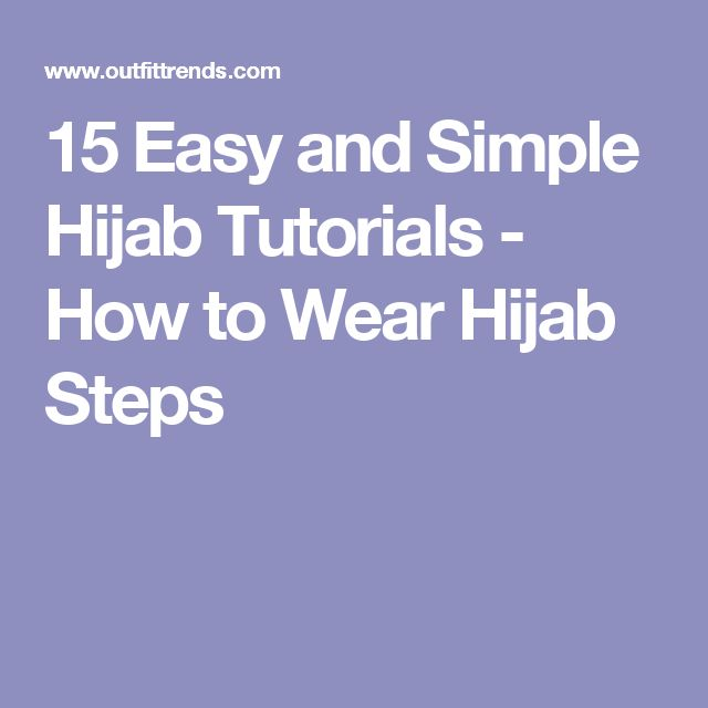 youtube how to wear hijab easy styles