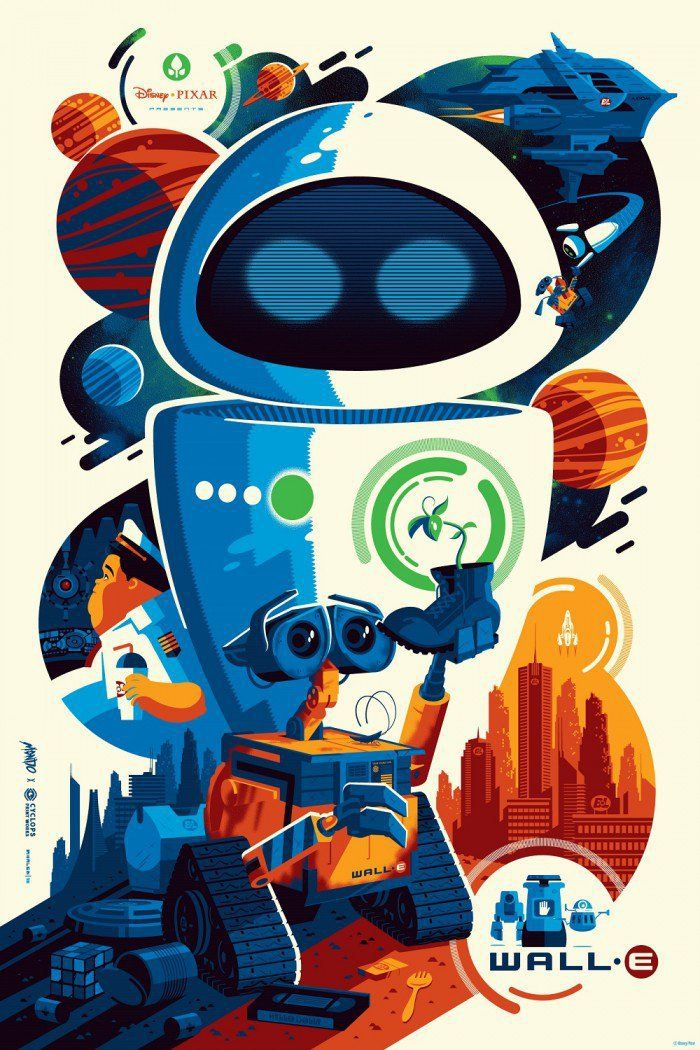 Cool Stuff: Tom Whalen's 'WALL-E' and JC Richard's 'Sleepy Hallow' Print Variants
