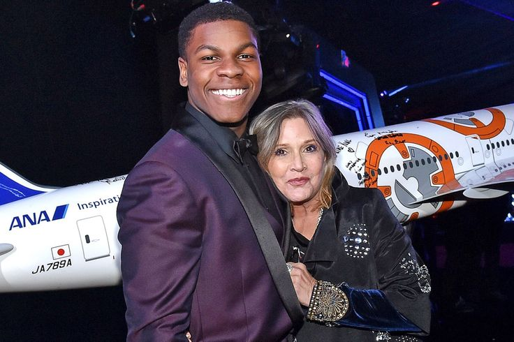 """John Boyega tweeted early Wednesday morning following the death of hisStar Wars: The Force Awakens costar Carrie Fisher on Tuesday at age 60 after suffering a heart attack last week. """"My hea…"""