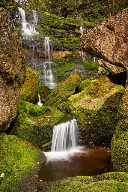 Elakala Falls, Blackwater Falls State Park,  West Virginia #USA