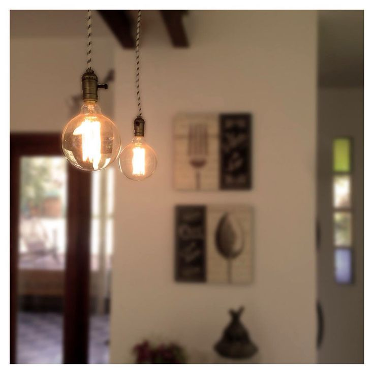 Lámparas Edison