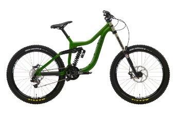 Kona Operator downhill full suspension Gentlemen green (2013) (top tube length: 54.6 cm): Sports & Outdoors