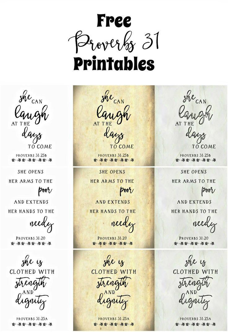 Free proverbs 31 printables cordero de dios planos de for Planos de carpinteria