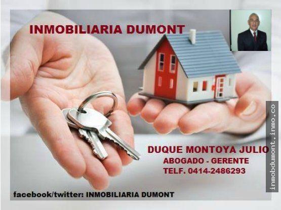 OFRECE SUS SERVICIOS VENTA BIENES INMUEBLES. - INMOBILIARIA DUMONT
