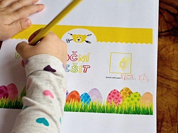 Velikonoční sešit k vytištění - 12 stran tvoření, říkadel