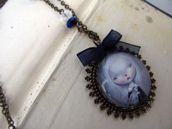 DREAMCATCHER  necklace by Dilkabear on Etsy, €35.00