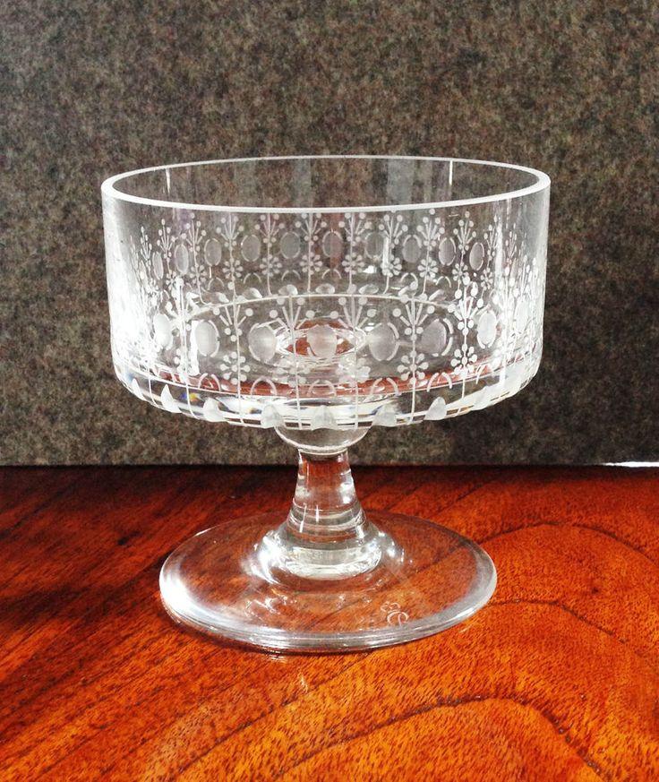 Rosenthal Romanze Glas - Design Björn Wiinblad - Sekt-/Champagner-/Dessertschale…
