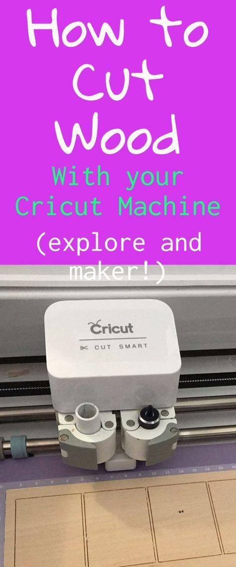 Cricut Maker / Cricut Explore Air 1 and 2 / Wood / Wood Crafting / Wood Projects / Cricut Machine / Cricut Tips / Cricut Crafts #Cricut #CricutProjects