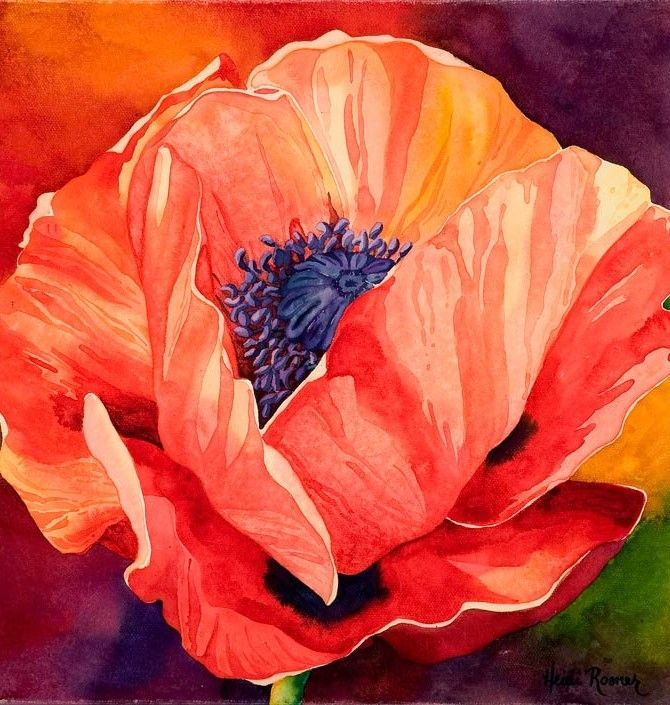 Heidi Rosner   WATERCOLOR