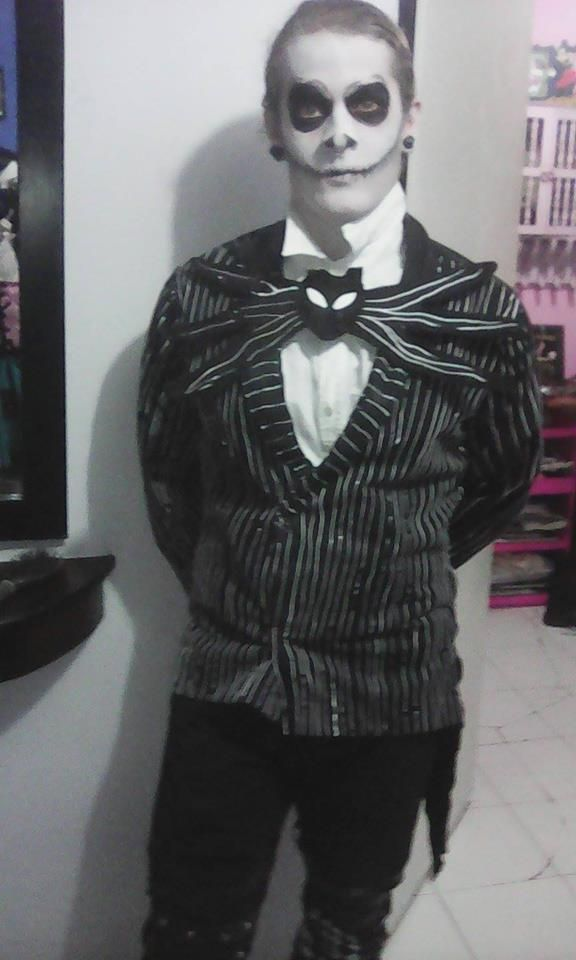 "Me as ""Jack Skellington""."