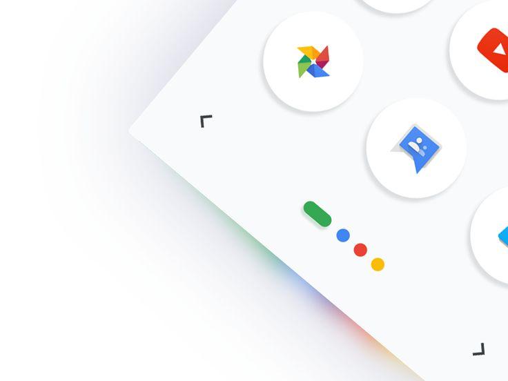 Google App Menu Concept by Malik #Design Popular #Dribbble #shots