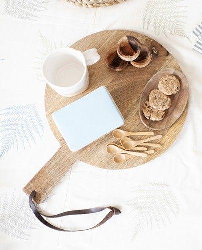 Tabla de madera para servir