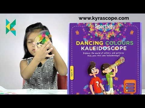 Smartivity Kaleidoscope DIY Activity Toy Unboxing and Review - YouTube