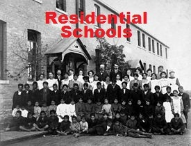 "Residential schools are a shameful piece of Canadian history. Between 1876 and 1996, Aboriginal children were stolen from there homes and put into these church-run schools where they were abused and brainwashed in order to ""beat the Indian out of the child."" The effects of these schools still affect Aboriginal people today. They were created in the wake of the Indian Act, which defined the rights of Aboriginal people and is still in place today."