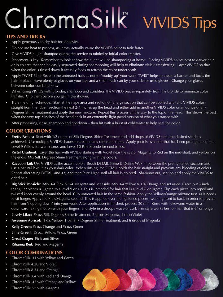 Pravana Vivids Color Chart | Details about PRAVANA CHROMA SILK VIVIDS PASTELS NEONS HAIR DYE - 20 ...