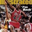 Michael Jordan came out of his 17-month retirement and played in his first NBA game for Chicago since Game 6 of the 1993 Finals against Phoenix. In front of a charged up crowd at Indiana's Market Square Arena, Jordan scored 19 points in 43 minutes but the host Pacers downed the Bulls in overtime 103...Michael Jordan came out of his 17-month retirement and played in his first NBA game for Chicago since Game 6 of the 1993 Finals against Phoenix. In front of a charged up crowd at Indiana's…