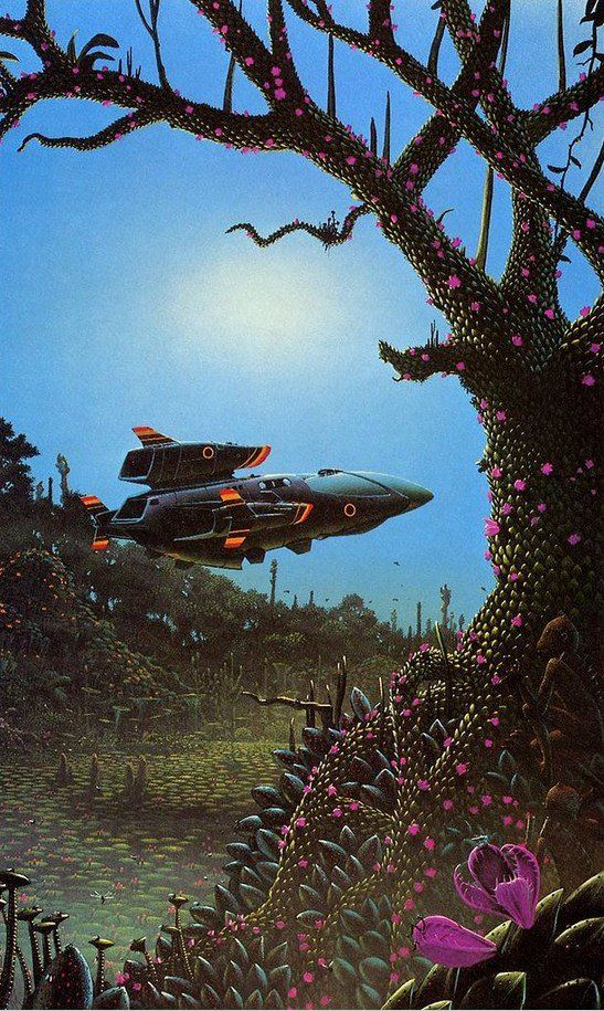 """Tim White, Art for """"The End of the Matter"""" by Alan Dean Foster (New English Library, 1979)"""