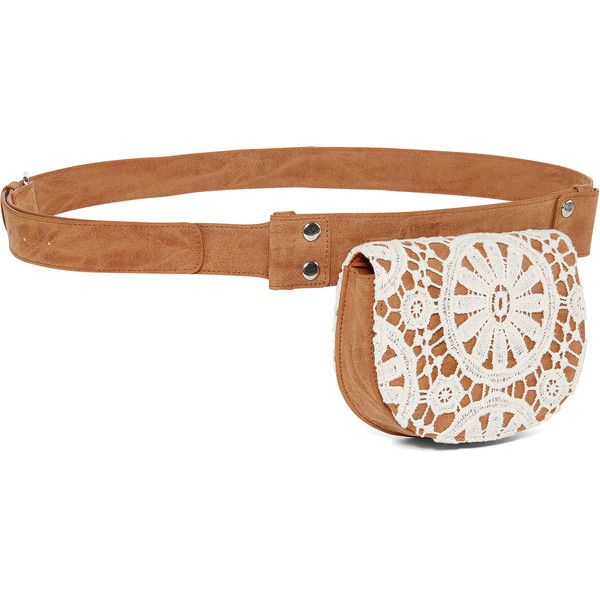 Arizona Minimalistic Belt Bag ($25) ❤ liked on Polyvore featuring bags, fanny pack bag, waist bag, bum bag, waist pack bag and white bag