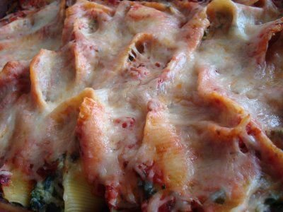 What's Cookin, Chicago?: Italian Sausage & Spinach Stuffed Shells