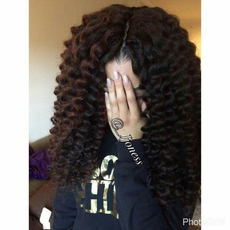 ... Braids, Bobs, Knots, and Twists on Pinterest Wand curls, Tree braids