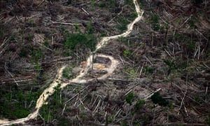 For a decade local photographer Rodrigo Baleia has documented the beauty and destruction of the Amazon basin from above