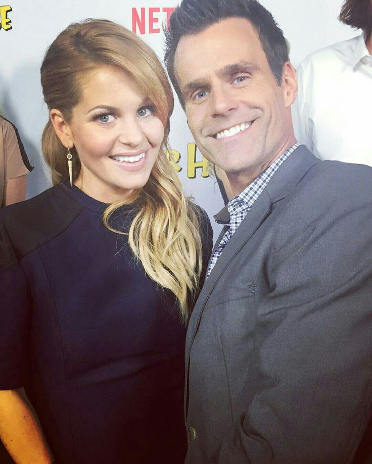 Candace Cameron Bure and Cameron Mathison