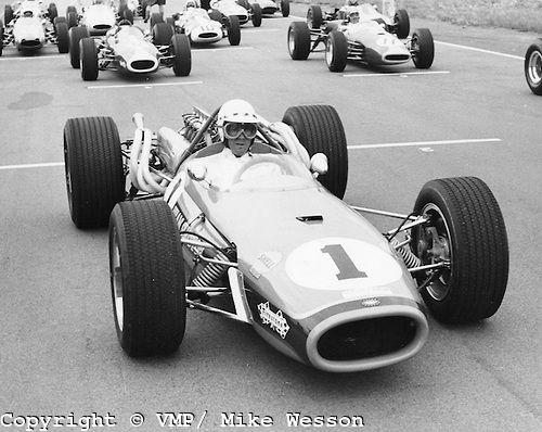 Brabham 3-litre driver - John Love (winner), Rhodesian Grand Prix ...