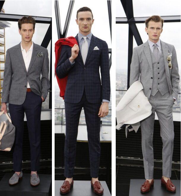Men's cocktail attire