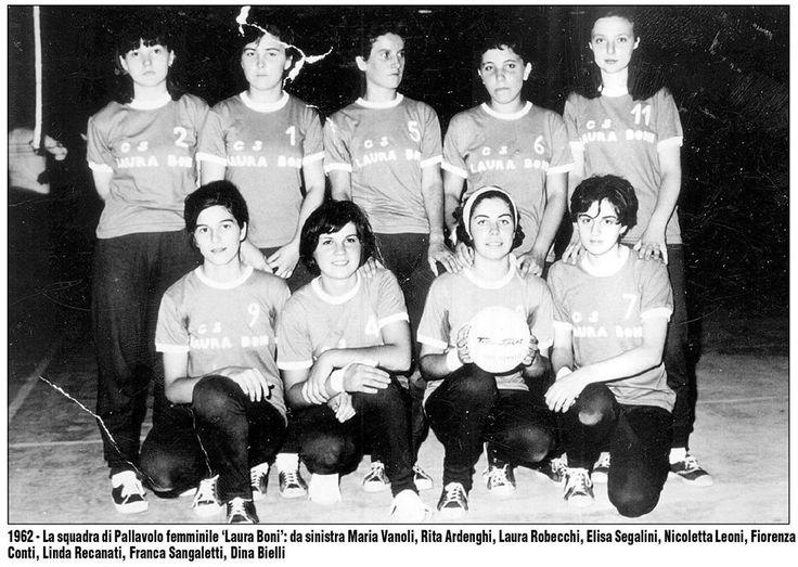 1962 Pallavolo : Laura Boni Treviglio