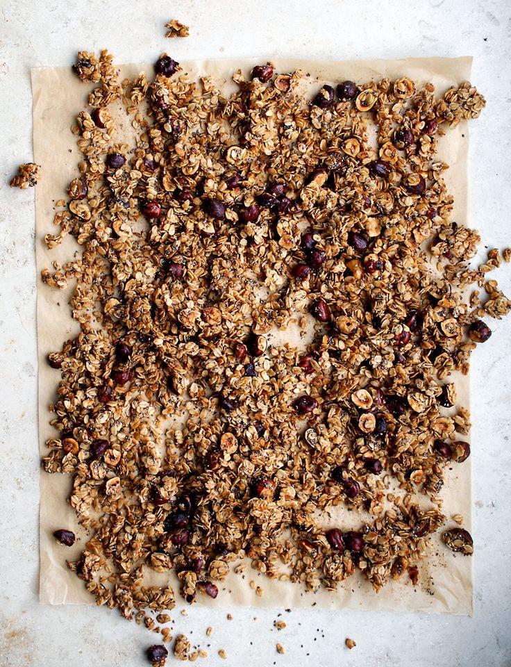 Cinnamon Hazelnut Granola