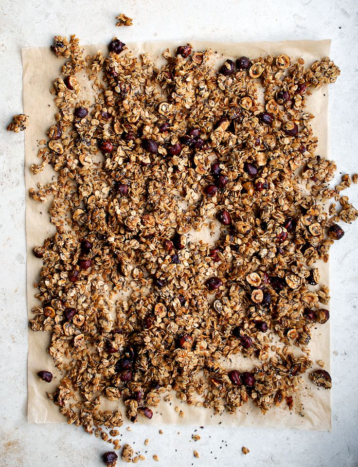 Cinnamon Hazelnut Granola | Occasionally Eggs