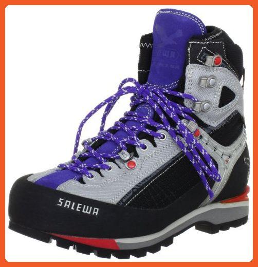 Salewa Women's Raven Combi GTX Hiking Boot,Black/Lilac,7.5 M US - Outdoor shoes for women (*Amazon Partner-Link)