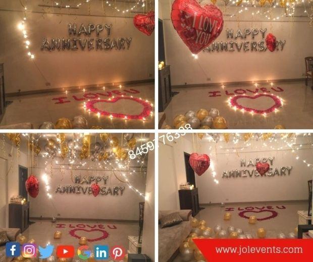 Valentine Day Romantic Ideas Surprise Surpriseparty Birthdaysurprise Birth Birthday Room Decorations Birthday Surprise For Husband Birthday Room Surprise