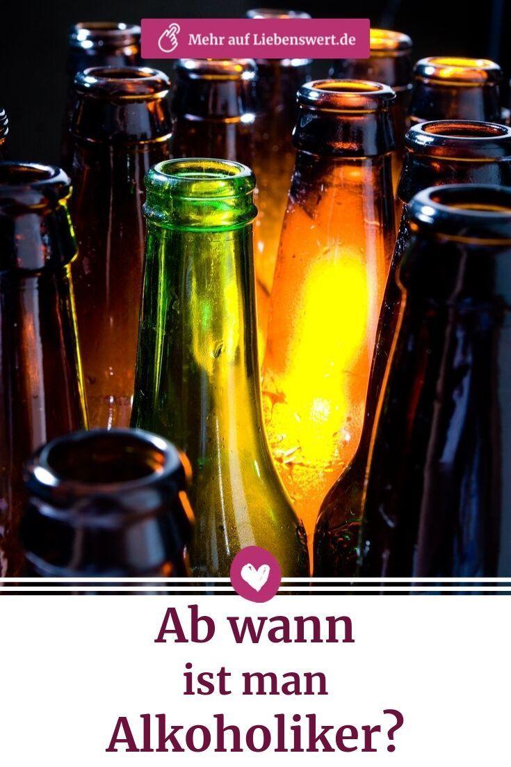 Ein ist alkoholiker man Alkoholkonsum: Mit