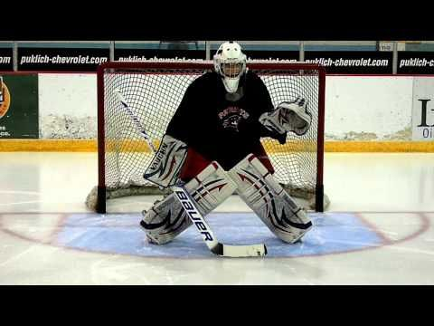 This drill is great for a goalie warm-up in practice or game settings. Goaltenders should focus on tracking the puck as well as executing the basic mechanics of each save. Goalrobber Drill of the Week #20 (Basic Goalie Warm-Up)
