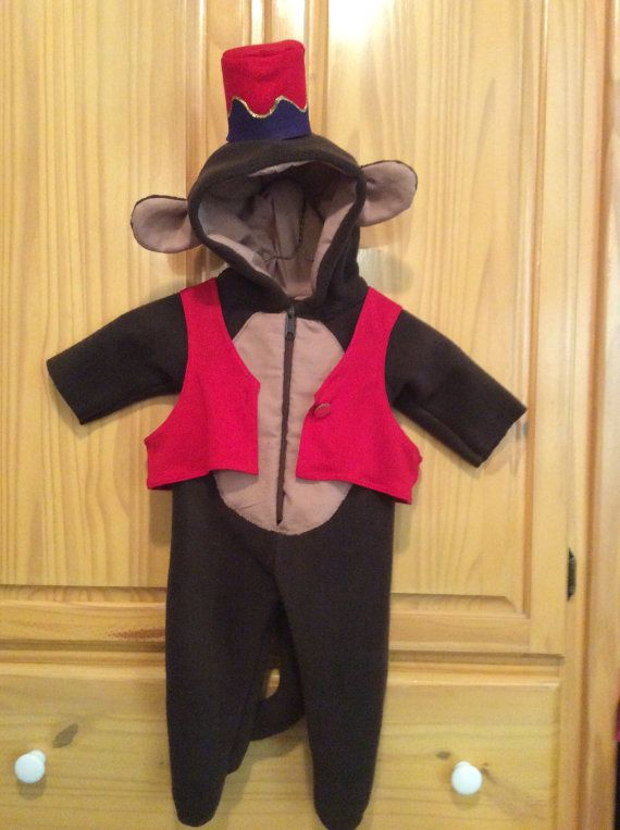 New Monkey Hat And Vest Abu Costume Reserved For