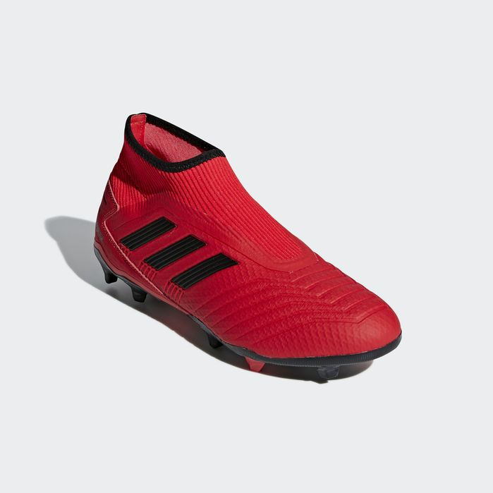 Predator 19 3 Laceless Firm Ground Cleats Red 12 Mens Soccer Cleats Predator Boots Soccer Cleats Nike