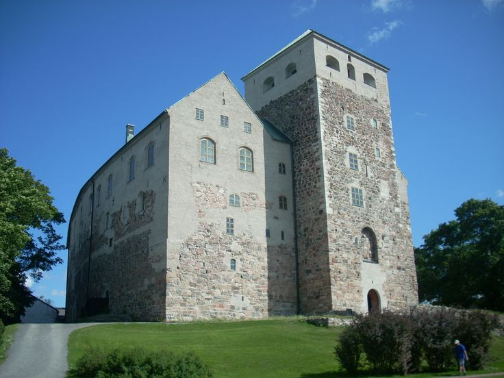 The castle of Turku, Finland. August 2012