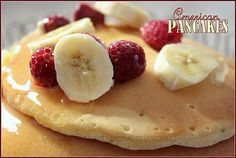 Pancakes crepes americaines