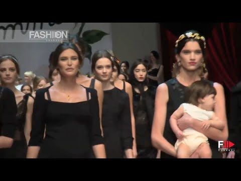 DOLCE & GABBANA Best Looks Milan Fashion Week Fall 2015 by Fashion Channel