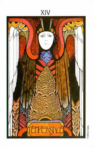 19 Best Tarot - X1V Temperance Images On Pinterest