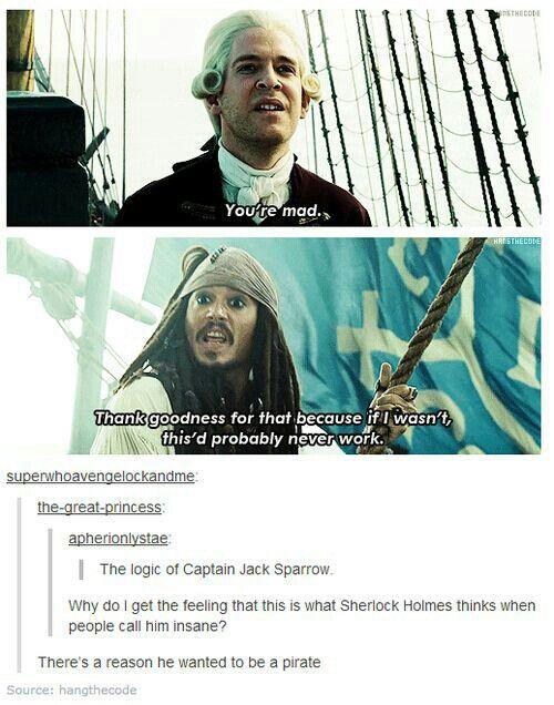 The logic of Capt. Jack