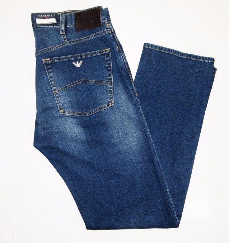 Armani Jeans regular fit size 34x32 style name J31 new with tags on sale #ArmaniJeans #regularStraightLeg