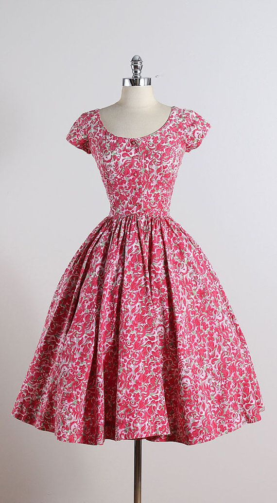 Top 25  best 1950s dresses ideas on Pinterest | Vintage dresses ...